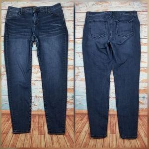 Kut from the kloth toothpick skinny denim jeans